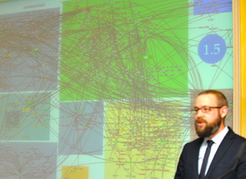 Felix Kuehn and map of al-Qaeda's globalist struggle