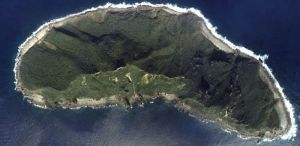 Aerial shot of a disputed Senkaku-Diaoyu islet.  Photo: Japanese Ministry of Land, Infrastructure, Transport and Tourism