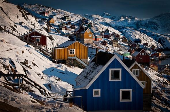 Kangaamiut, Greenland. Photo from ilovegreenland/Greenland Tourism
