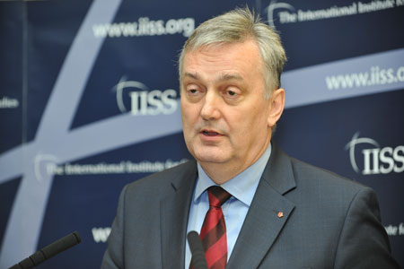 Bosnian Foreign Minister Zlatko Lagumdzija at the IISS, 28 March 2012