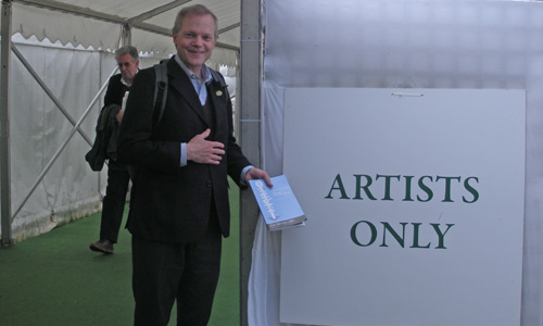 Mark Fitzpatrick at the Hay Festival
