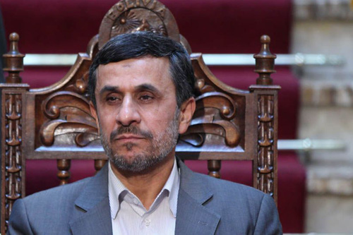 Iranian President Mahmoud Ahmadinejad (Photo: Iranian Presidents Office)