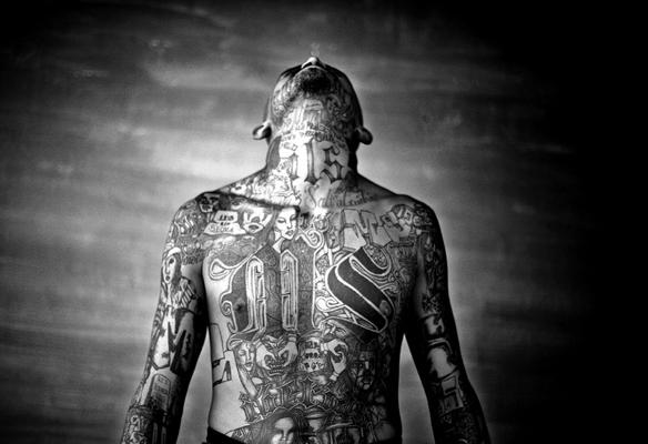 Mara Salvatrucha gang member, El Salvador