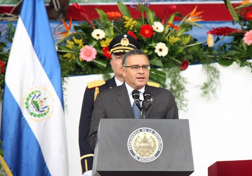Salvadoran President Mauricio Funes. Photo: Presidency of El Salvador
