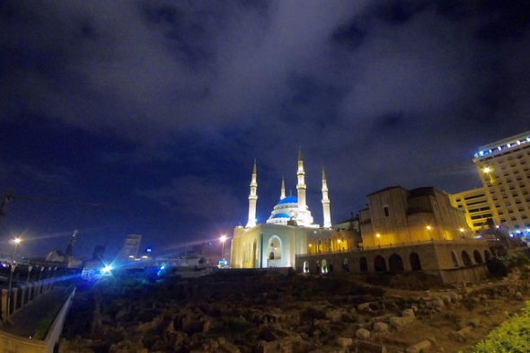 Beirut's Al-Amin Mosque. Timos L. Flickr user