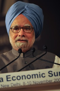 Indian PM Manmohan Singh. Photo World Economic Forum/Eric Miller