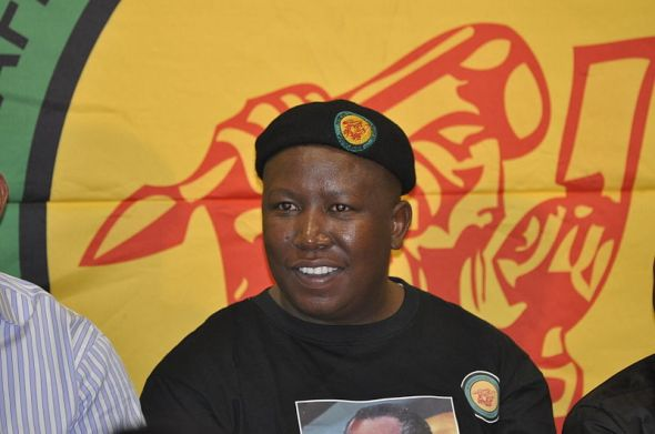 Former ANCYL leader Julius Malema. Photo Gary van der Merwe
