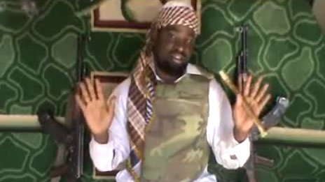 Still from a Boko Haram video. Source YouTube