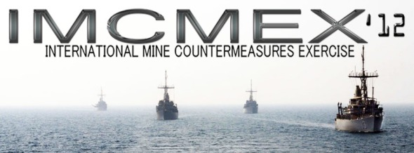 International Mine Countermeasures Exercise banner (Photo: US Naval Forces Central Command/US Fifth Fleet