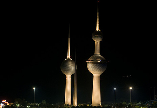 Kuwait towers. Photo: Earth Hour Global under a CC licence