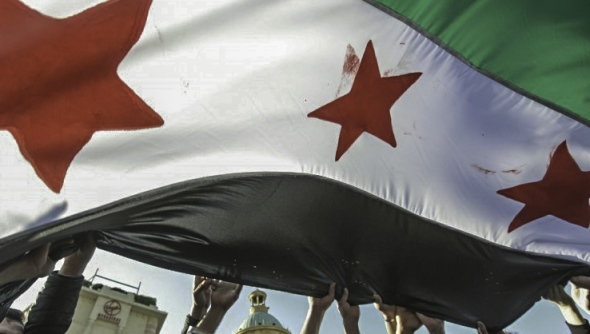 Syrian flag (photo: Freedom House, used una creative commons licence