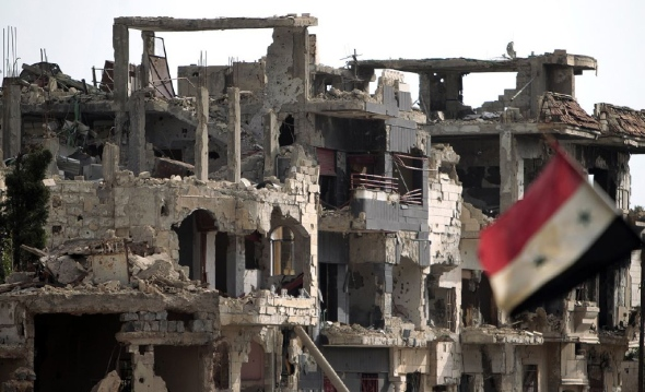 Bab Amro, Homs (Photo: Freedom House)