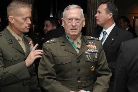 General James Mattis, Commander of US Central Command at the Manama Dialogue 2012