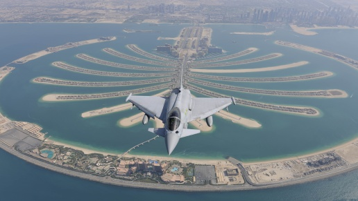 Eurofighter Typhoon over Dubai Photo BAe Systems 2012