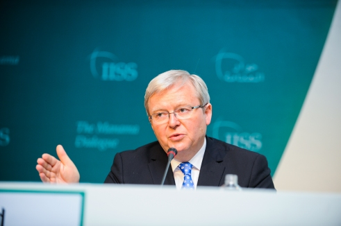 Kevin Rudd at the Manama Dialogue