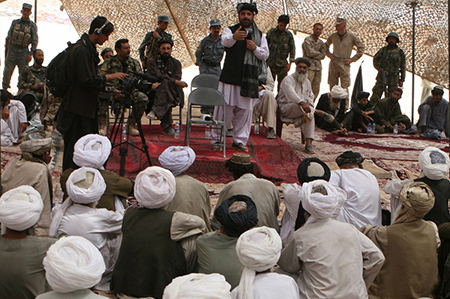 Former Taliban cut past ties, return to Afghan society during reintegration shura