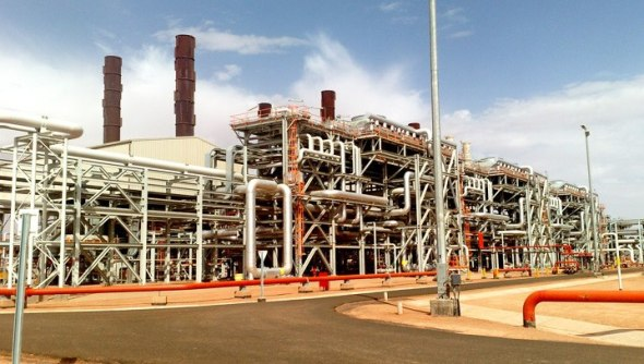 The In Amenas gas installation in Algeria. Photo: BP