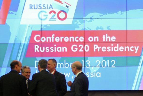 Russian G20 presidency. Photo G20