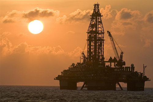 Nexen oil platform in the Gulf of Mexico Photo Nexen Inc