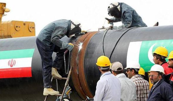 Iran-Pakistan Pipeline Photo Office of the Iranian President