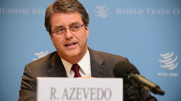 Roberto Azevedo WTO Photo
